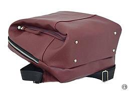 Женский рюкзак Case 606 бордо, фото 3