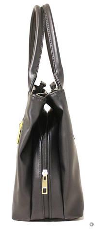 Женская сумка из кожзама Case 507 черная г, фото 2