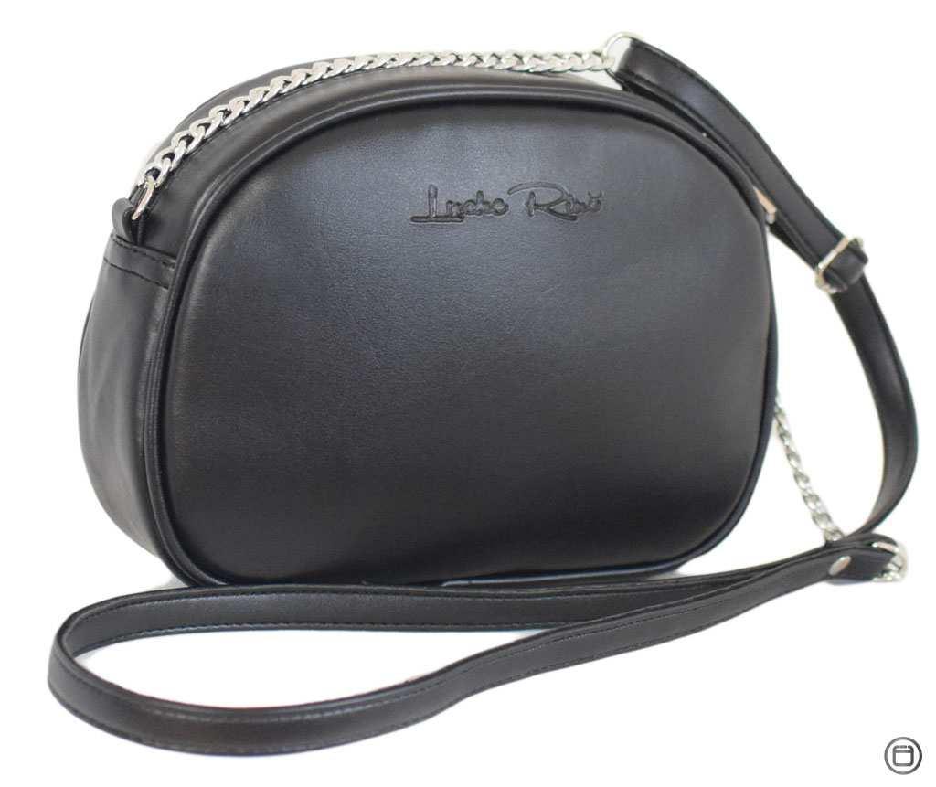 Женская сумка кроссбоди из кожзама Case 527 черная г