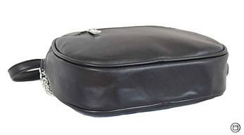 Женская сумка кроссбоди из кожзама Case 527 черная г, фото 3