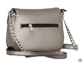 626 сумка срібло бронза, фото 2