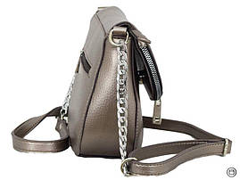 626 сумка срібло бронза, фото 3