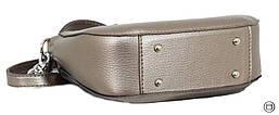 Женская сумка Case 626 серебро бронза, фото 2