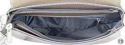 Женская сумка Case 626 серебро бронза, фото 3