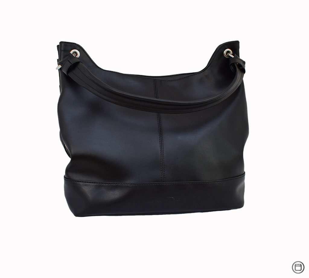 Большая женская сумка Украина 460 черная г