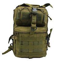 Сумка-рюкзак тактическая военная A92 800D, койот