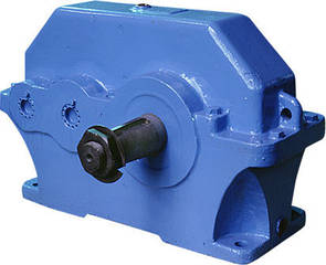 Редуктор 1Ц2У-125-10-13Ц-У1 цилиндрический горизонтальный двухступенчатый