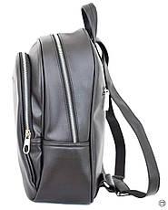 Удобный женский рюкзак Case 600 черный н, фото 2