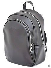Удобный женский рюкзак Case 600 черный н, фото 3