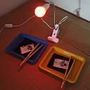Лабораторный светильник красный для фотопечати., фото 3
