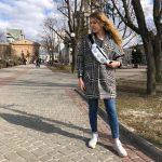 Женская поясная сумка (бананка) — KOTIKI, фото 2