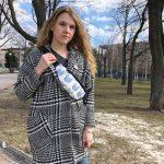 Женская поясная сумка (бананка) — KOTIKI, фото 3