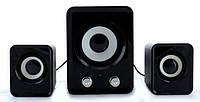 Колонки для ПК FT-202 Mini 2.1 USB, черные