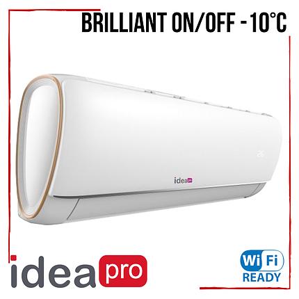 Кондиционер IDEA Pro Brilliant IPA-36HRN1 On/Off -10°С класс C до 105 м2, фото 2