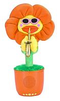 Портативная Bluetooth колонка Dancing Flower G26, оранжевая