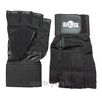 Перчатки спортивные б/п Selex Cody, кожа, размеры: S, M, L, XL