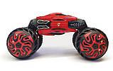 Трюковая машина-трансформер, Dance Monster, перевёртыш, джип, на радиоуправлении, полный привод, аккум. 4.8V, фото 4