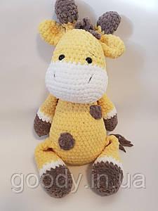 М'яка іграшка жираф із плюшевої пряжі 40 cm