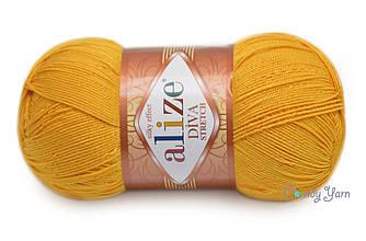 Alize Stretch Diva, Желтый №488