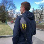 Мужская поясная сумка (бананка) — Batman (DC), фото 2