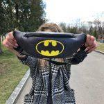 Мужская поясная сумка (бананка) — Batman (DC), фото 3