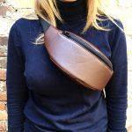 Женская поясная сумка (бананка) — Bro'N, фото 2