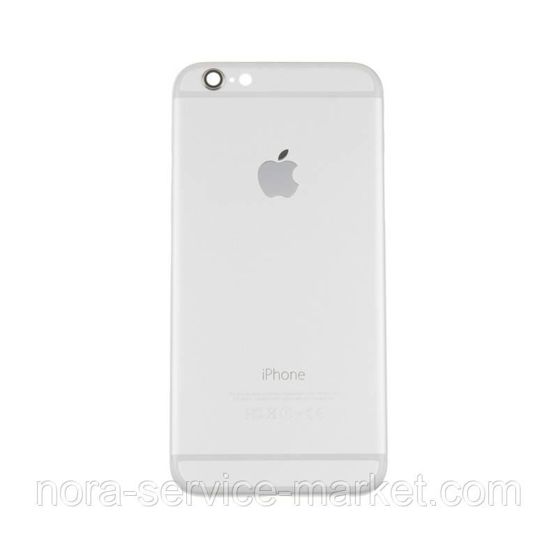Корпус Full (кришка+рамка) iPhone 6 Silver HC