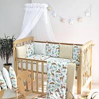 Балдахин Baby Design белый ТМ «Маленькая Соня»