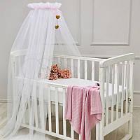 Балдахин Happy Baby с розовой лентой ТМ «Маленькая Соня»