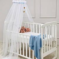 Балдахин Happy Baby с голубой лентой ТМ «Маленькая Соня»