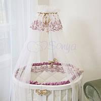 Балдахин Ricci розовый ТМ «Маленькая Соня»