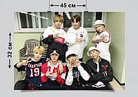 Плакат А3, BTS 27