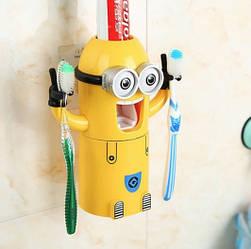 Дозатор для зубной пасты автоматический KOVY Миньон (010102)