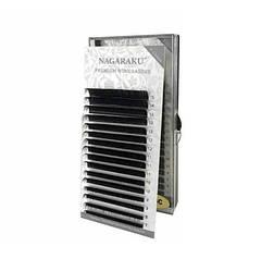 Ресницы для наращивания черные NAGARAKU 0.05D mix 7-15 mm (A1003)