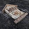 Ключница деревянная настенная домик 21 см., фото 3