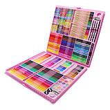 ВИДЕООБЗОР! 288 предметов!!! Самый большой художественный  набор для рисования и творчества Colorful Italy, фото 2