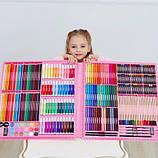 ВИДЕООБЗОР! 288 предметов!!! Самый большой художественный  набор для рисования и творчества Colorful Italy, фото 4
