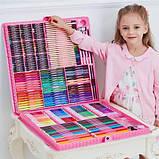 288 предметов!!! Самый большой художественный детский набор для рисования и творчества Colorful Italy, фото 5