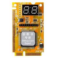 POST карта Mini PCI PCI-E LPC анализатор неисправности ноутбука тестер