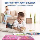 Видеообзор! Детский художественный  набор для рисования Art set 150 предметов (0709001), фото 3