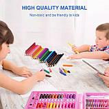 Видеообзор! Детский художественный  набор для рисования Art set 150 предметов (0709001), фото 2
