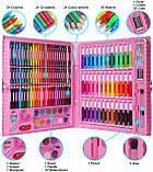 Видеообзор! Детский художественный  набор для рисования Art set 150 предметов (0709001), фото 4