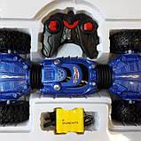 Трюковая машина-трансформер, перевёртыш, джип  Rock Crawler на радиоуправлении, полный привод, аккум. 4.8 V, фото 4