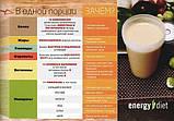 Коктейль Капучино Енерджи Диет Energy Diet HD банка идеальная фигура без диет и голода контроль веса Франция, фото 2