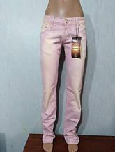 Женские розовые джинсы Roberto Cavalli 29 и 30 размер