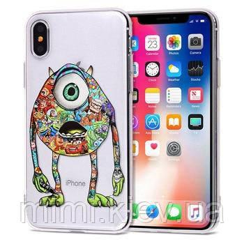 Силиконовый чехол для iPhone 8
