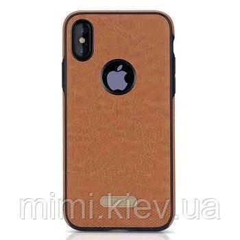 Кожаный чехол для iPhone Xs