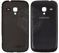 Задняя крышка батареи для Samsung Galaxy Ace 2 i8160, черный, оригинал