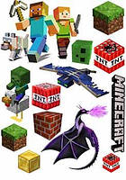 "Вафельная картинка ""Minecraft. Майнкрафт 1"""