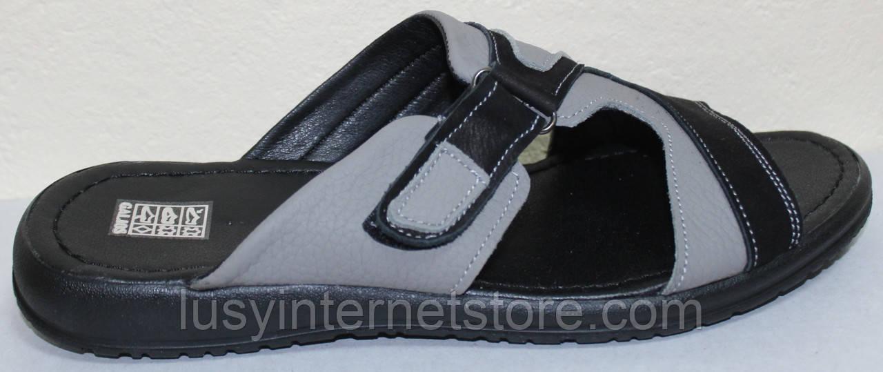 Сабо мужские кожаные от производителя модель ГЛ106